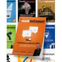 das musikinstrument Magazin - Akutelle Ausgabe