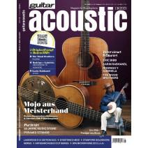 Cover des aktuellen guitar acoustic - Magazin