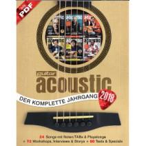 guitar acoustic Jahreshefte