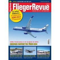 Cover des aktuellen FliegerRevue - Magazin
