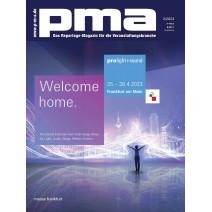 Cover des aktuellen PMA - Magazin