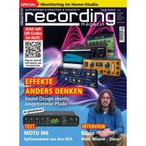 recording - Magazin für Aufnahe, Mischen und Mastering