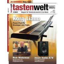 Cover des aktuellen tastenwelt - Magazin