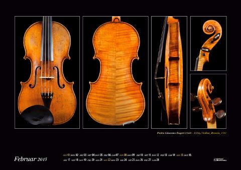 Meisterwerke des italienischen Geigenbaus Kalender 2015