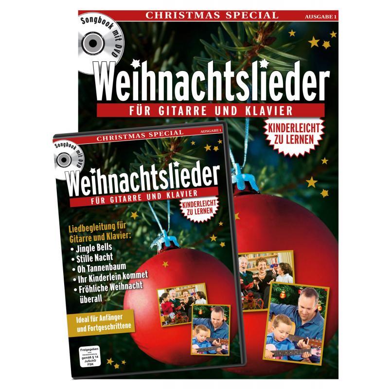 Best of Songs Weihnachtslieder - Songbook mit DVD, 2,99 €