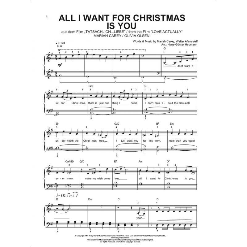 Weihnachtslieder Charts 2019.Christmas Piano Gefällt Mir 50 Chart Und Film Hits
