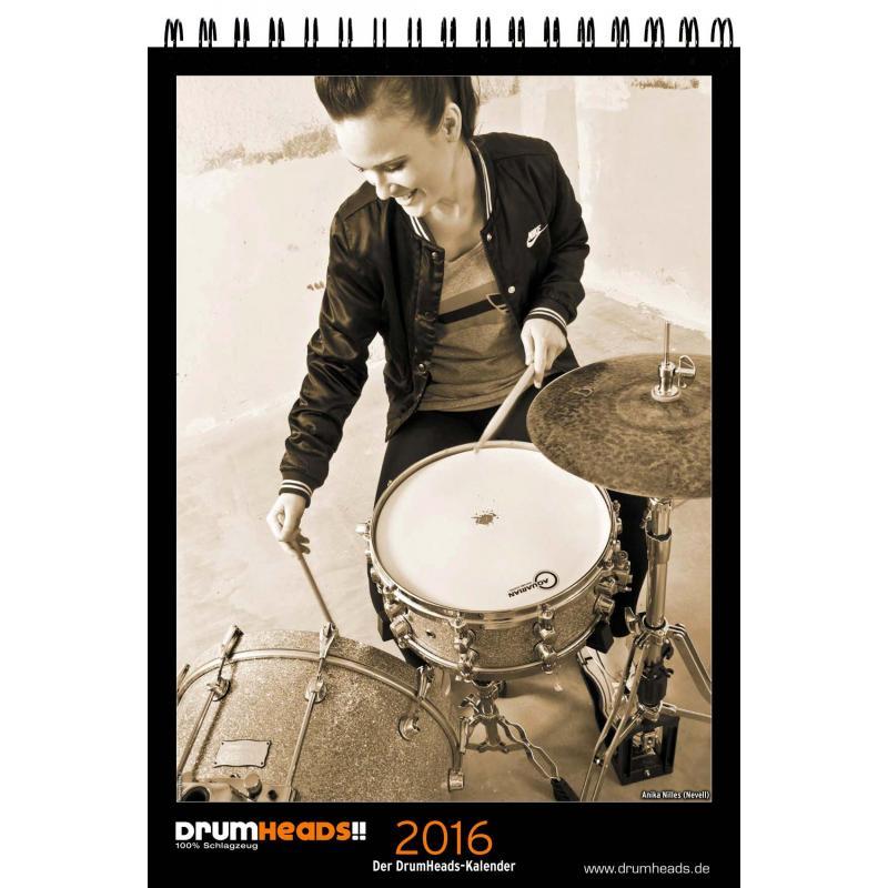 DrumHeads!! Kalender 2016