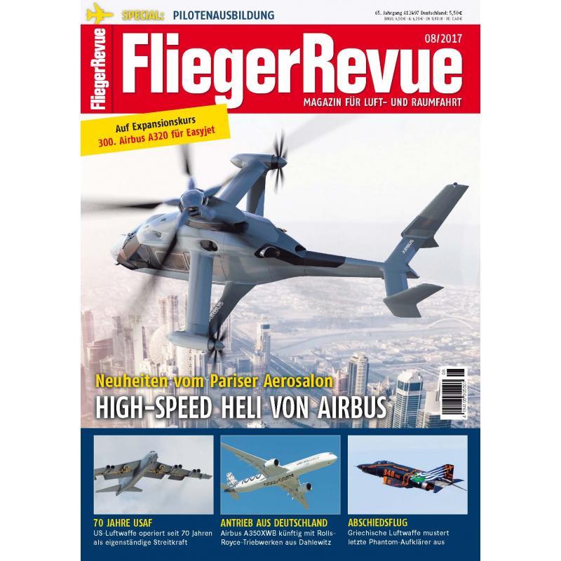 FliegerRevue Magazin Ausgabe 08-2017