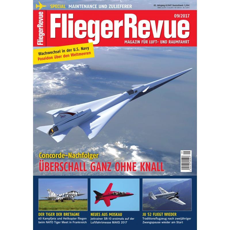 FliegerRevue Magazin Ausgabe 09-2017