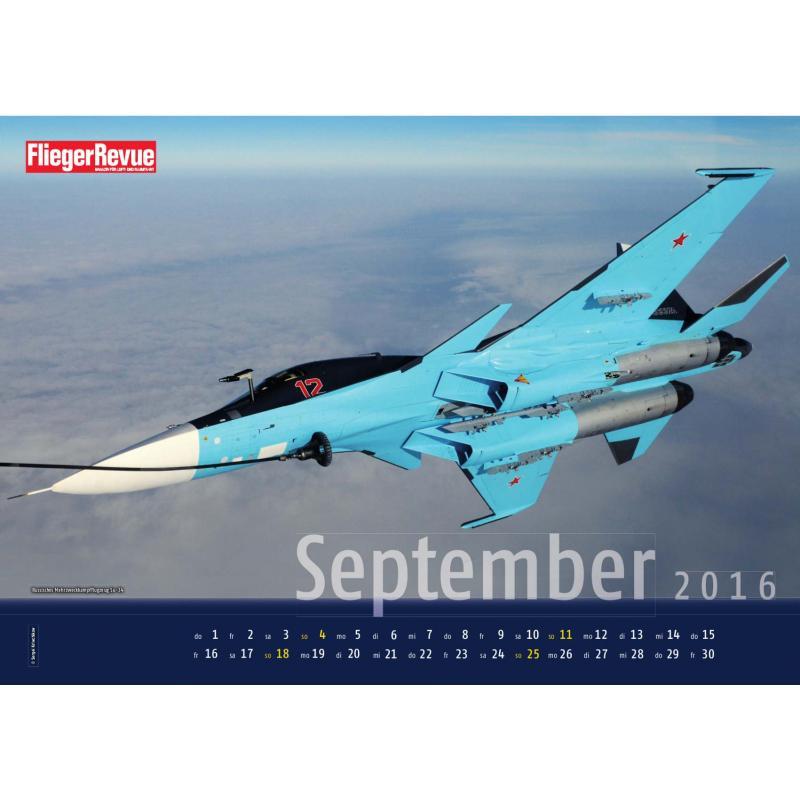 FliegerRevue Kalender 2016