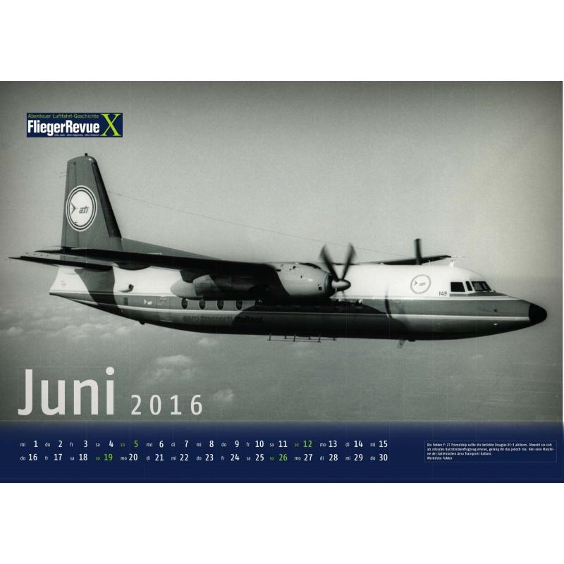 FliegerRevue X Kalender 2016