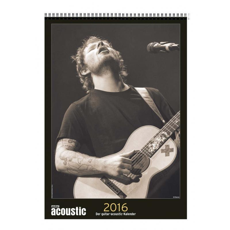 Guitar Acoustic Kalender 2016