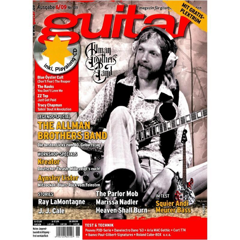 The Allman Brothers Band In Der Guitar Mit Gitarre Noten Tabs