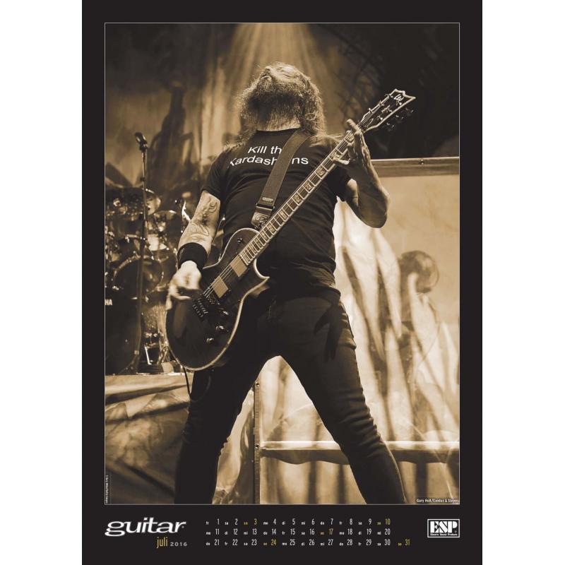 Guitar Kalender 2016