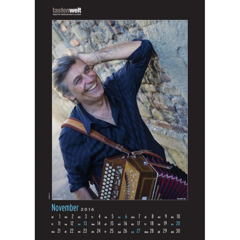 Harmonika Kalender 2016