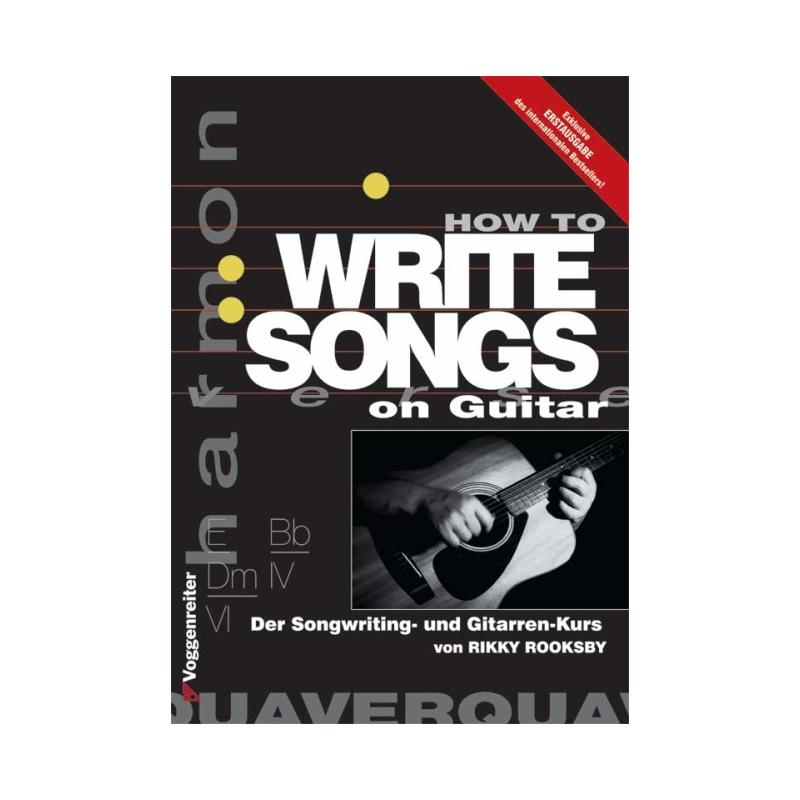how to write songs on guitar This was a hand-out given on the first day to my guitar class at davis  guitar music is a place where the  lyrics to harvey reid songs | harvey reid.
