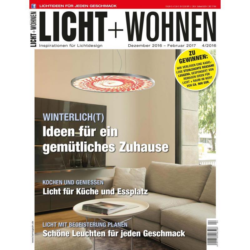 Licht+Wohnen 04 2016 Printausgabe Oder PDF Download