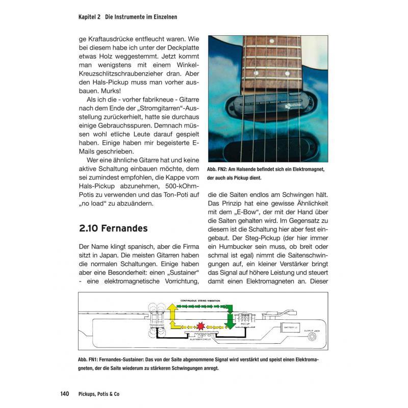 Pickups, Potis & Co. Gitarrenelektronik, 24,95 €