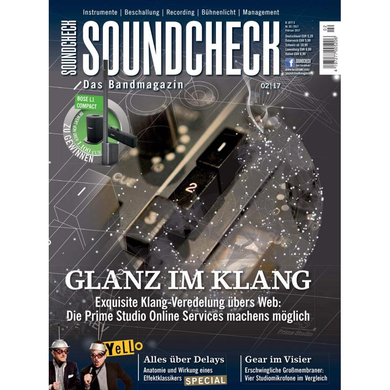 Prime Studio Online Services Test - Soundcheck - Das Bandmagazin, 4,20 €
