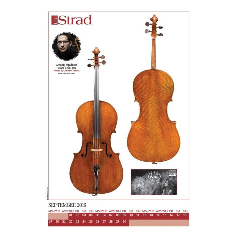 Strad-Kalender 2016