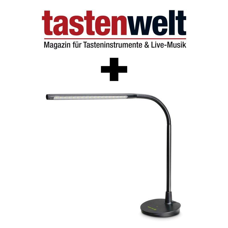 tastenwelt 2 jahresabo mit pr mie gravity led pl pro 79 40. Black Bedroom Furniture Sets. Home Design Ideas