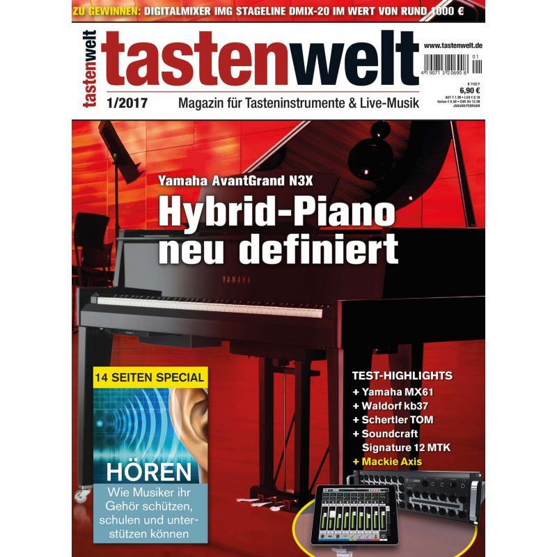 Tastenwelt 01 2017 | PPVMEDIEN, 5,90 €