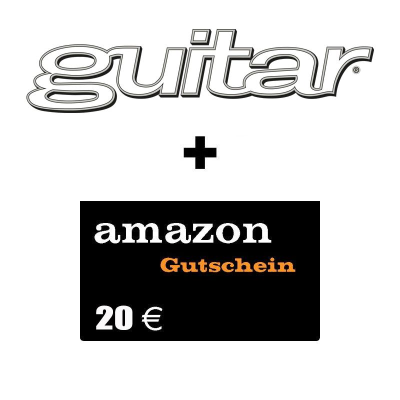 guitar 1 jahresabo mit pr mie 20 amazon gutschein 75 80. Black Bedroom Furniture Sets. Home Design Ideas