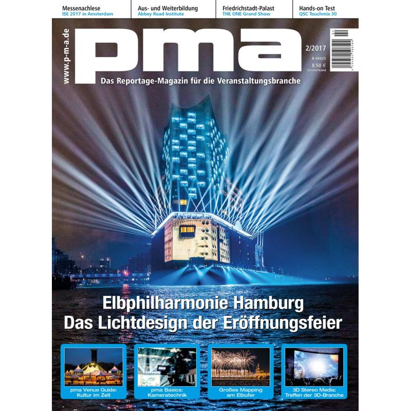 pma 02 2017 elbphilharmonie hamburg das lichtdesign der. Black Bedroom Furniture Sets. Home Design Ideas