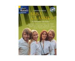 Abba Classics , Klavier m. Audio CD - Schott Piano Lounge