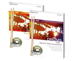 Bundle: 10-Minuten-Trainings Drums Hände/Hände...