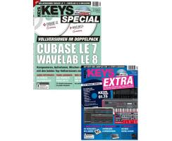 Bundle: KEYS Cubase LE 7 / Wavelab LE 8 + Best of...
