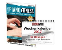Bundle Tastenwelt Wochenkalender 2017 + Digital Piano...