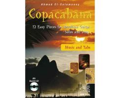 Copacabana. 12 Easy Pieces for Brazilian Guitar. Solos...