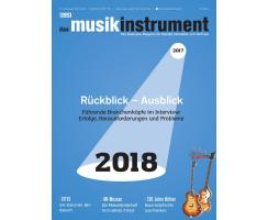 Das Musikinstrument 01 2018 Printausgabe oder PDF Download