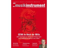 Das Musikinstrument 04 2018 Printausgabe oder PDF Download