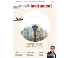 Das Musikinstrument 08 2017 Printausgabe oder PDF Download