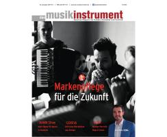 Das Musikinstrument 09 2017 Printausgabe oder PDF Download