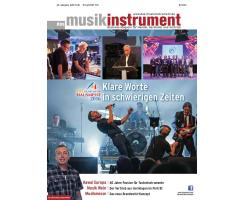Das Musikinstrument 10 2016 Printausgabe oder PDF Download