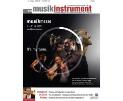 Das Musikinstrument 04 2016 Printausgabe oder PDF Download
