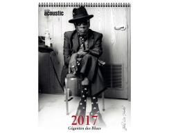 Guitar Acoustic Blues-Kalender 2017