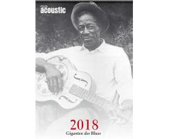 Guitar Acoustic Blues-Kalender 2018