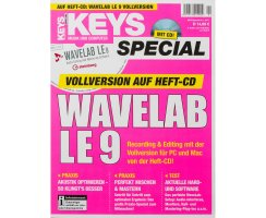 Wavelab LE 9 Vollversion im Keys Special 1/2017