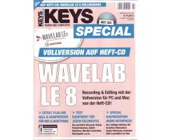 Keys Special mit Wavelab LE 8 Vollversion auf Heft CD