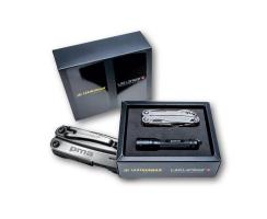 Leatherman Wingman und Led Lenser P5E (PMA-Set)