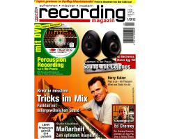 Recording Magazin 01 2012 Printausgabe oder PDF Download