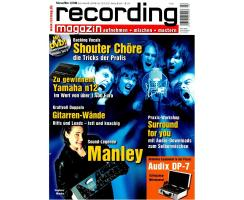 Recording Magazin 02 2008 Printausgabe oder PDF Download