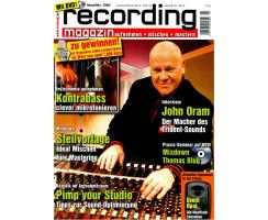 Recording Magazin 02 2010 Printausgabe oder PDF Download