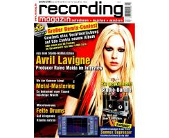 Recording Magazin 03 2008 Printausgabe oder PDF Download