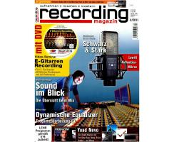Recording Magazin 04 2011 Printausgabe oder PDF Download