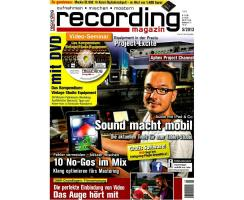 Recording Magazin 05 2013 Printausgabe oder PDF Download